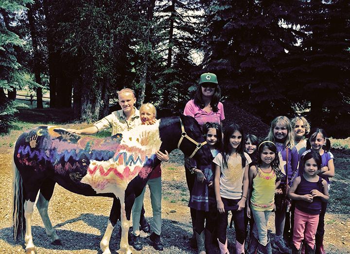 Painted Horse - Teton Outdoor Adventures