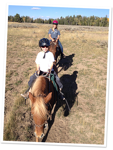 Camp TOA trail ride